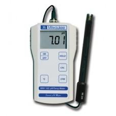 Standartinis nešiojamas pH/temperatūros matuoklis MW102