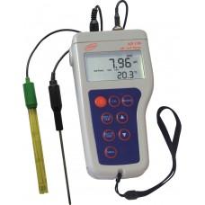 Adwa AD130 nešiojamas profesionalus pH / ORP / Temp matuoklis